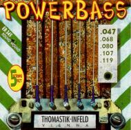 EB-345 Power Bass žice za bas gitaru set od 5 žica