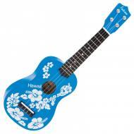 UKULELE FL15BL - BLUE FLOWER