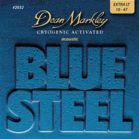 DM2032 BLUE STEEL CRYOGENIC XL EXTRA LIGHT 10-48 SET ŽICA ZA AKUSTIČNU GITARU - 1