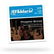 Set žica za akustičnu gitaru Light Phosphor Bronze - EJ16